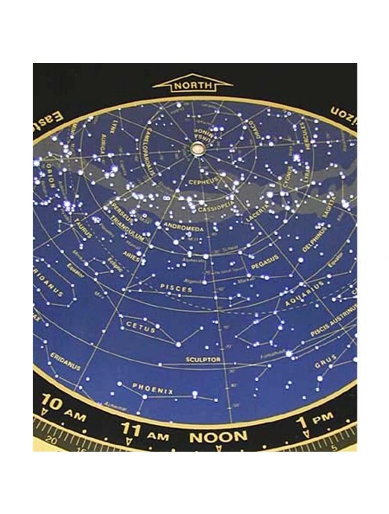 """Miller 10.5"""" 40 Degree Planisphere for 35-45 degrees N"""