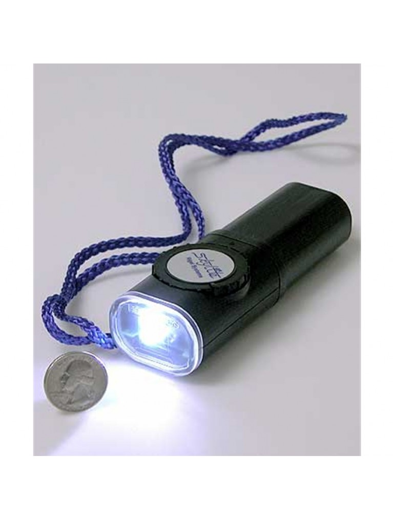 Skylite Water-resistant variable brightness two-color LED astronomer's flashlight