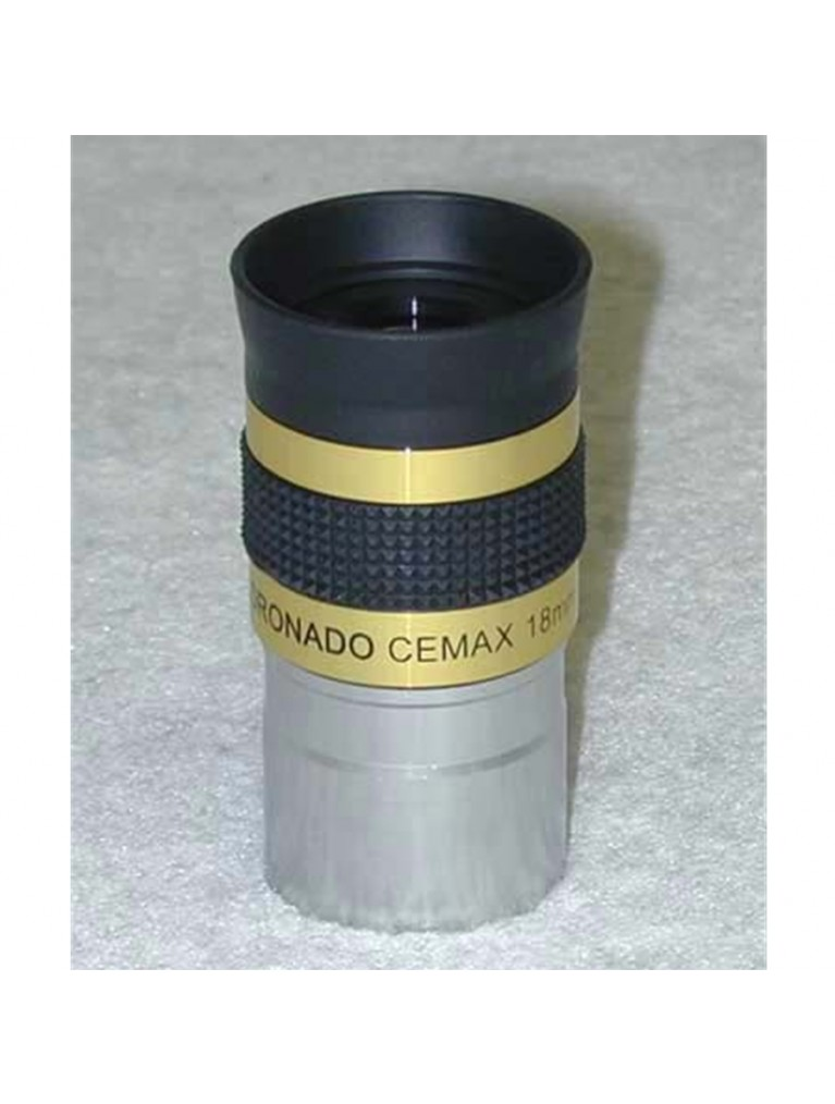 "18mm CEMAX 1.25"" enhanced for solar viewing"