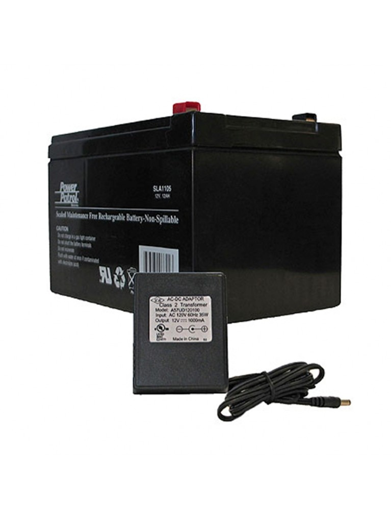 Takahashi 12V/12AH rechargeable battery with charger