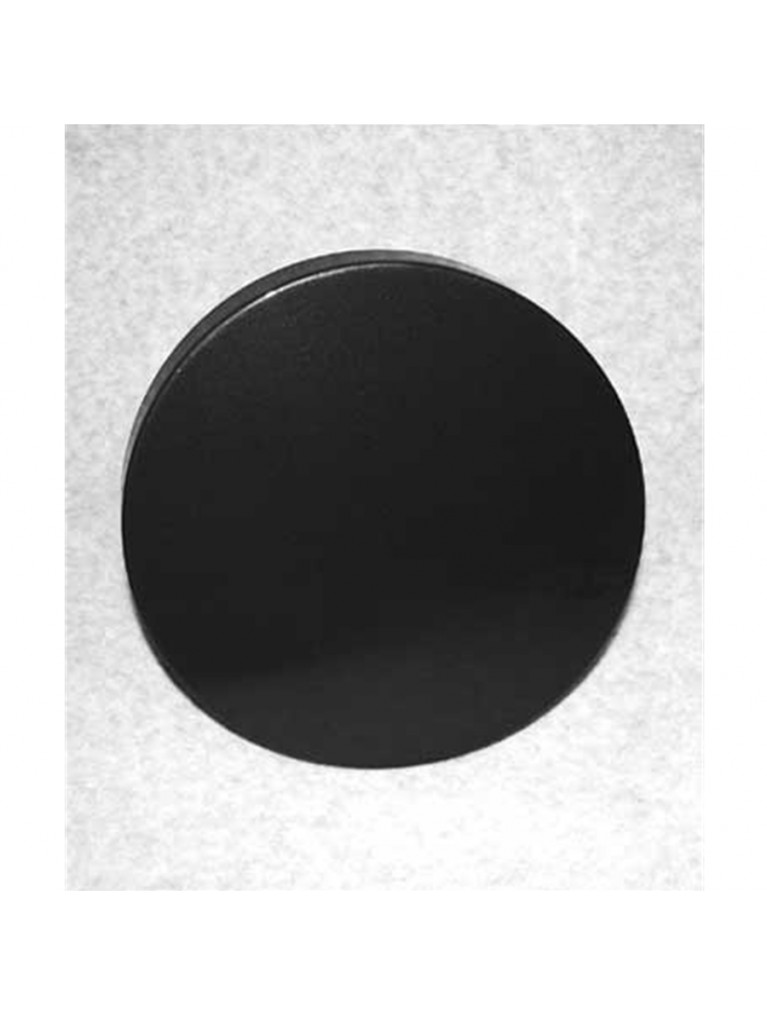 "Metal dust cover for 9.25"" Astrozap dew shields (black)"