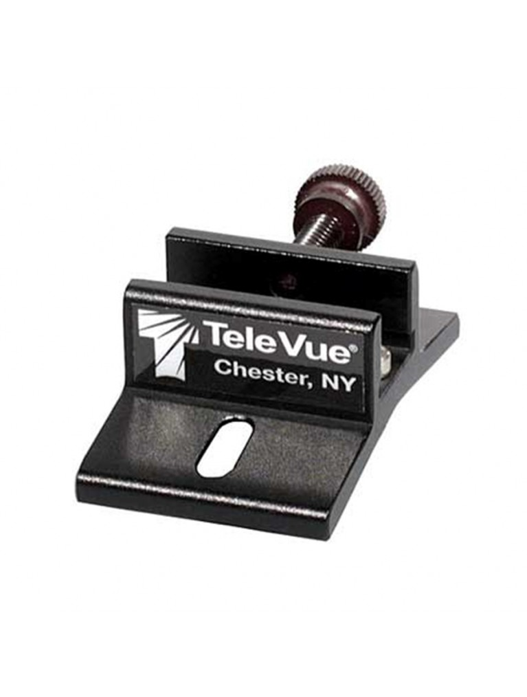 Accessory bracket to mount a TeleVue TV-60 on an SCT as a superfinder