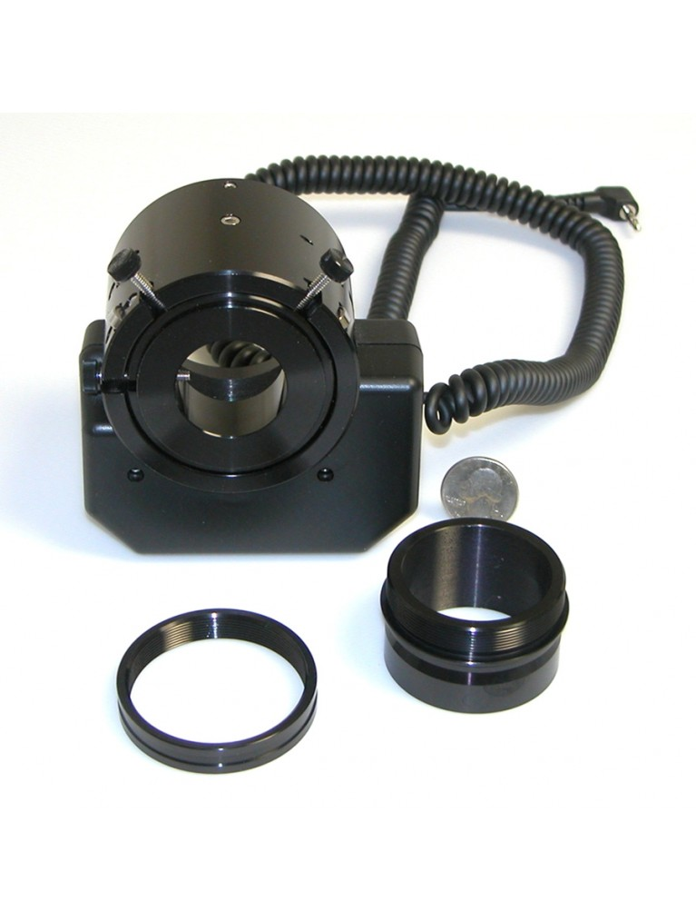 Zero image shift focuser for LX200 and LS telescopes using an AutoStar II or III computer only