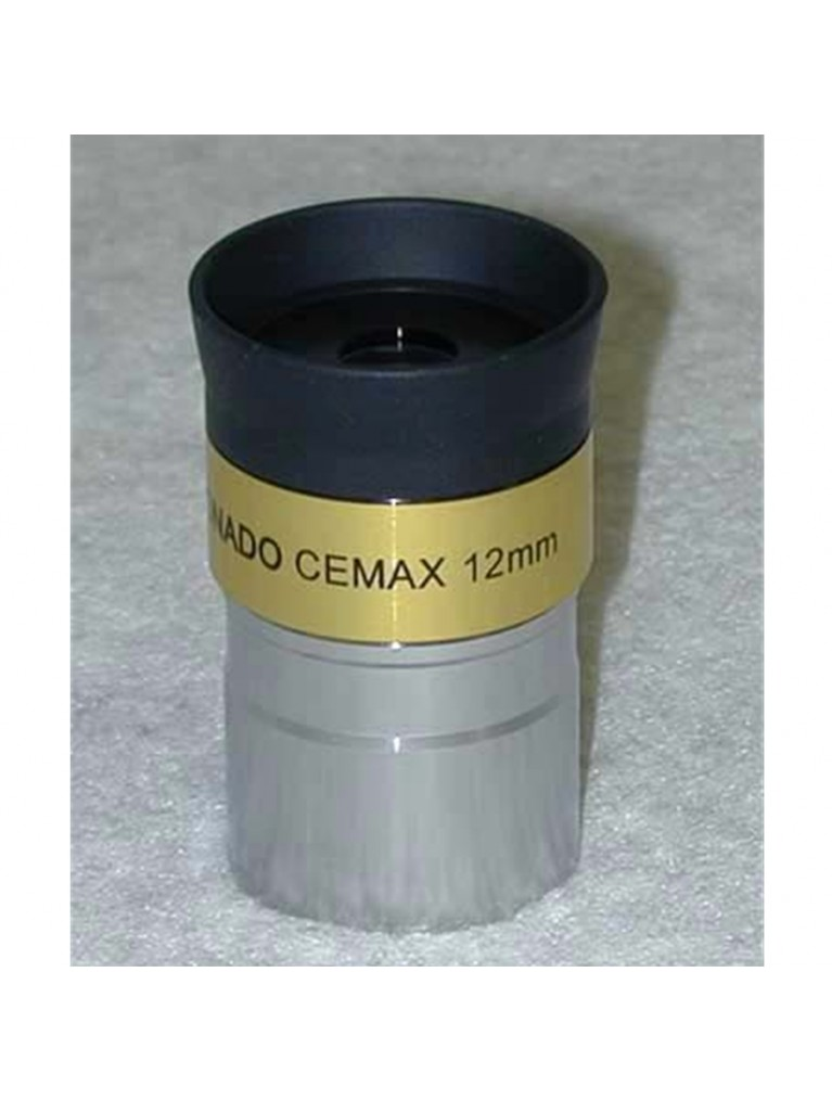 "12mm CEMAX 1.25"" enhanced for solar viewing"