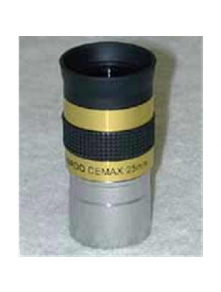 "25mm CEMAX 1.25"" enhanced for solar viewing"