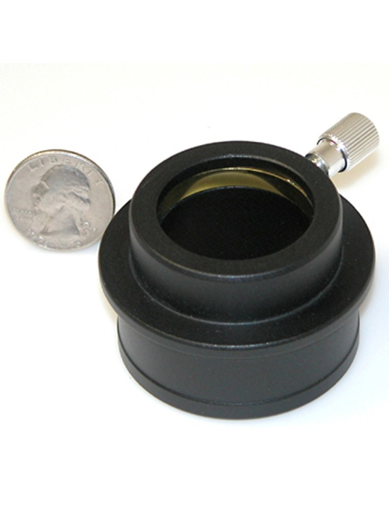 "High hat adapter to use 1.25"" eyepieces in 2"" focusers, matte satin finish"