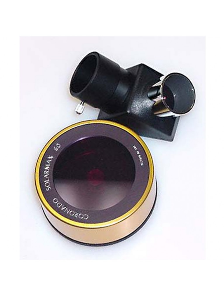 SolarMax 60mm H-alpha filter with T-Max and 10mm blocking filter | under 1000mm focal length