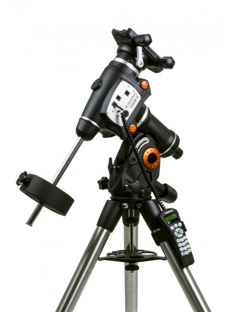 Celestron CGEM II Computerized equatorial mount, 40 lb. payload capacity 91523