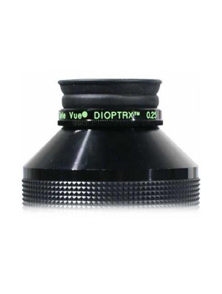 0.25 Diopter Dioptrx astigmatism-correcting lens