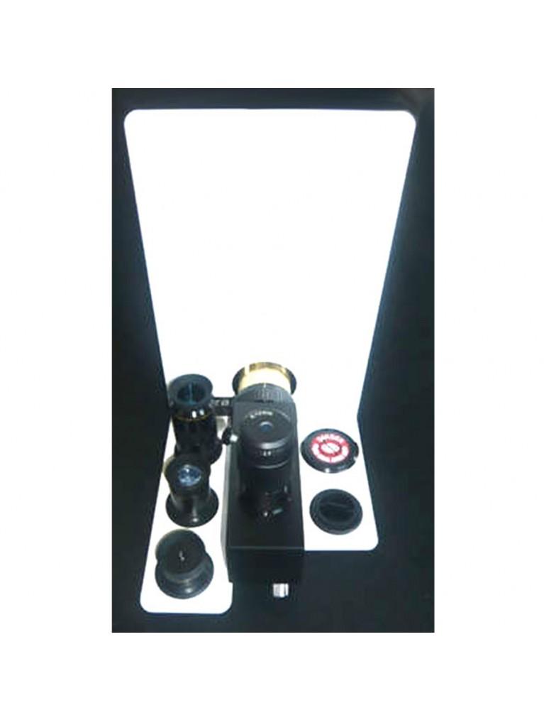 Eyepiece caddy for Coronado PST solar scope