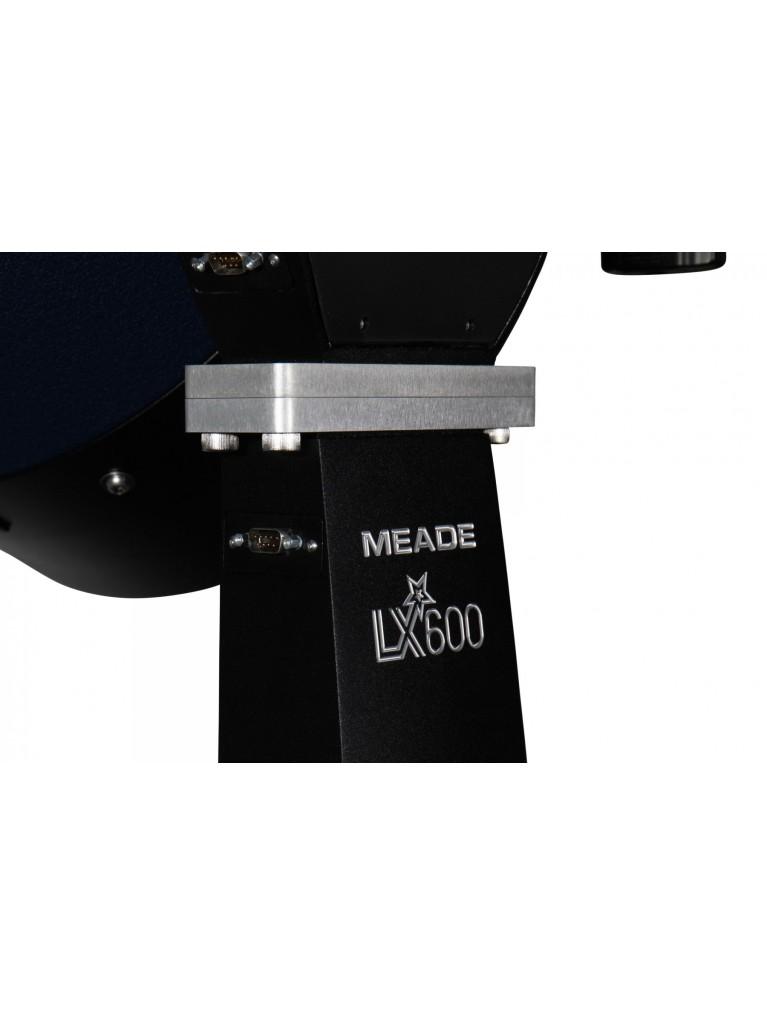 """Meade LX600-ACF 10"""" f/8 go-to StarLock altazimuth, w/ACF & UHTC optics No Tripod"""