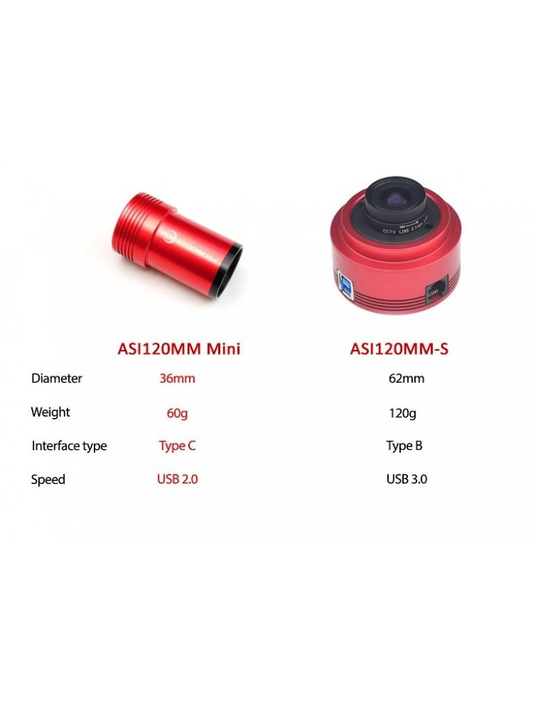 ZWO ASI120MM Mini Monochrome CMOS Camera and Guide Camera