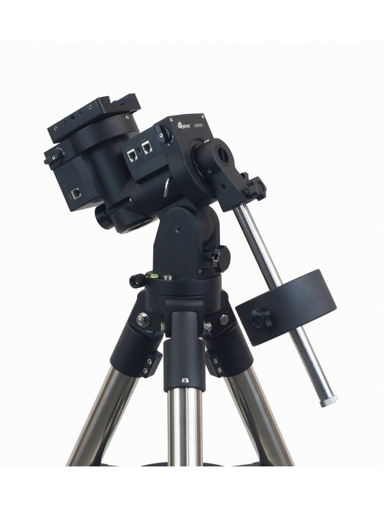 """iOptron CEM26 """"Center Balanced"""" go-to German equatorial mount with AccuAlign, Hard Case, and 1.75"""" tripod"""
