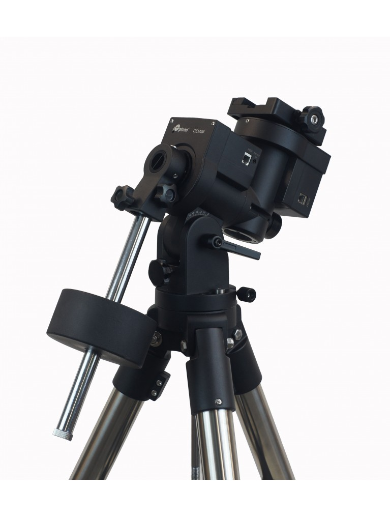 "iOptron CEM26 ""Center Balanced"" go-to German equatorial mount with iPolar and 1.5"" tripod"