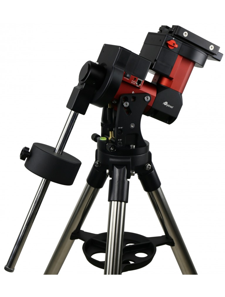 "iOptron CEM40 Center Balanced GoTo Equatorial Mount With 1.75"" LiteRoc Tripod And Case"