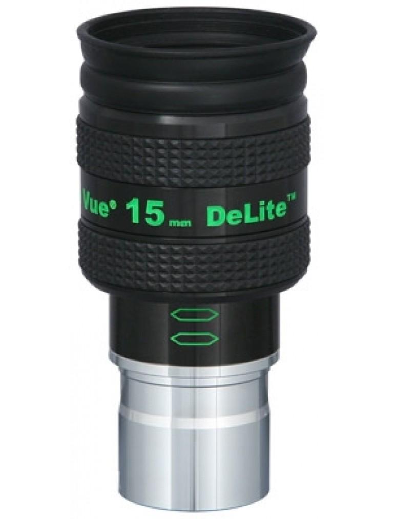 """TeleVue 15mm DeLite™ 62° 1.25"""" Eyepiece"""