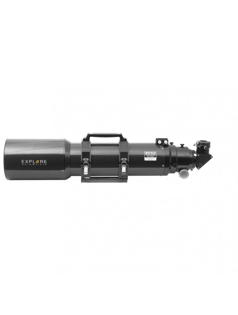"Explore Scientific140mm f/6.7 FPL-53 Carbon Fiber APO Triplet Refractor With 3"" Hexagonal Focuser"