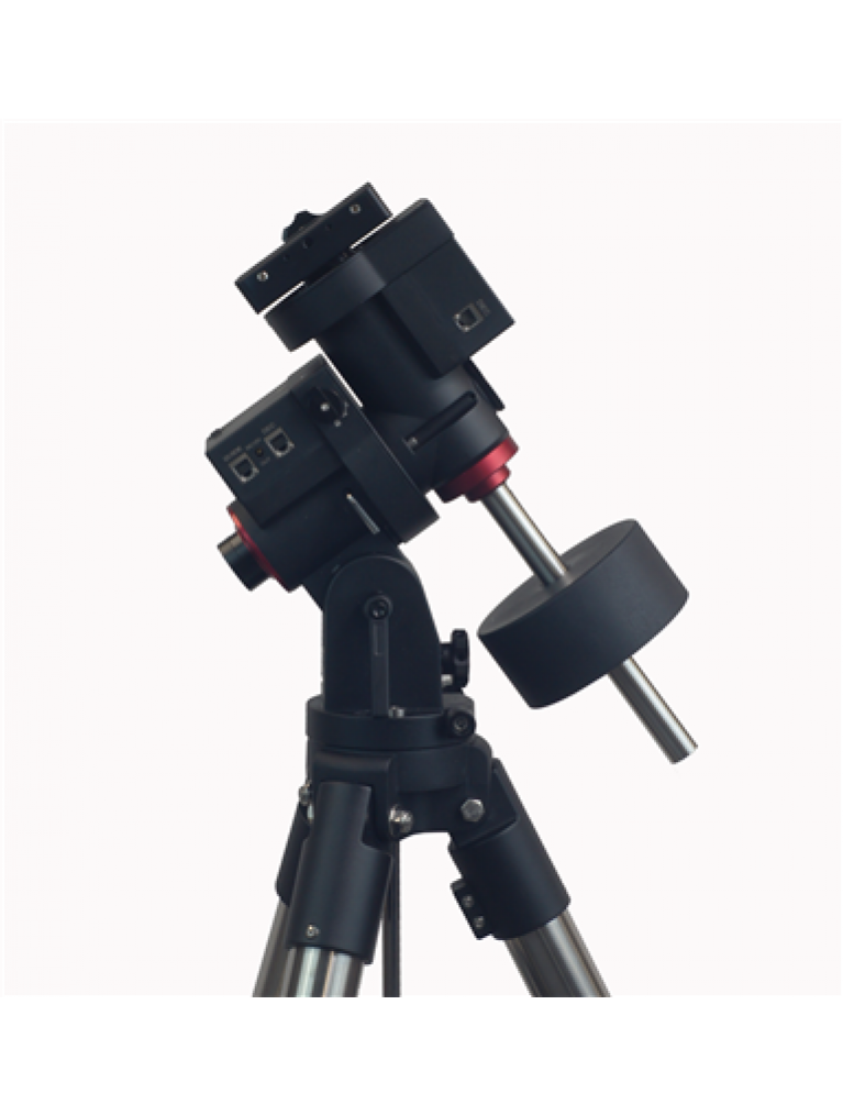 """iOptron GEM28 go-to German Equatorial Mount with iPolar, hard case, and 1.5"""" Tripod"""