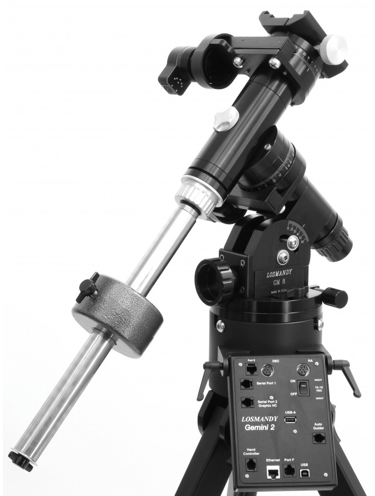GM-8 Equatorial Mount with Gemini II go-to computer