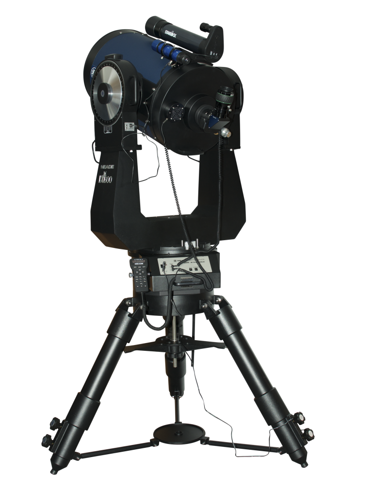 "Meade LX600-ACF 16"" f/8 Advanced Coma-Free go-to StarLock altazimuth, Super Giant Field Tripod"