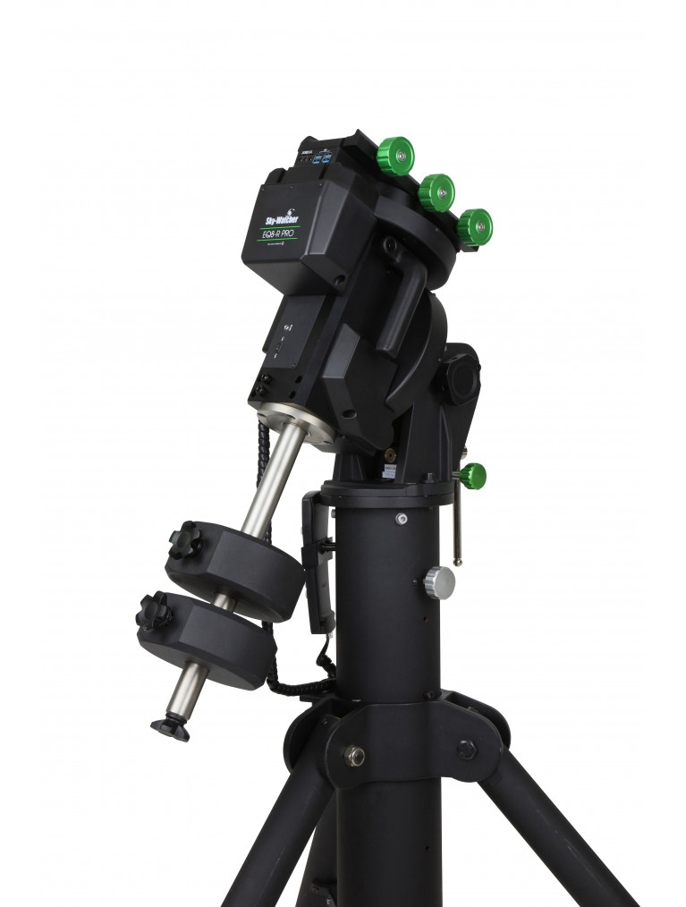Sky-Watcher EQ8-R Pro Equatorial Mount Head and 2 22 pound Counterweights Only
