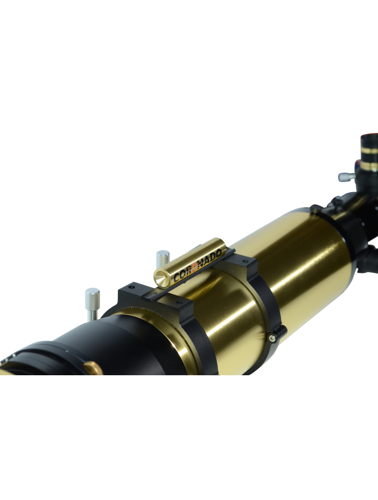 "Coronado SolarMax III 90 Double Stack 3.5"" F/8.9 solar telescope with 30mm blocking filter"
