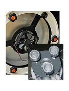 """9 Collimating and locking knobs for Meade 10"""" Lightbridge Dobsonian primary & secondary"""
