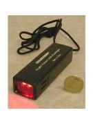 Variable brightness dual red LED astronomer's flashlight