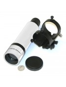 #829 8 X 50mm white finder with quick-release bracket