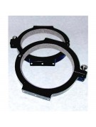 """Meade 8"""" SCT or ACF and 7"""" Maksutov rings, 9.1"""" ID, pair"""