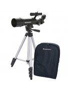Image showing the Celestron Travel Scope 50 with its tripod and backpack carrying case.