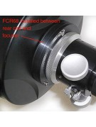 Image showing where the Astro-Tech FCR mounts on a scope.
