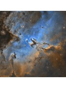A portion of an Astro-Tech AT16RCT image of the Eagle Nebula, taken by Steve Cooper.