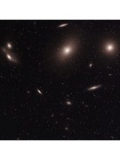 "A closer 11"" Celestron RASA image of Markarian's Galaxy Chain (a 900x900 pixel portion of the 2136x1752 pixel original."