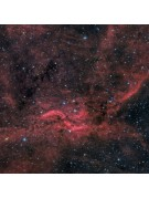 "11"" Celestron RASA image by John Davis of the Propeller Nebula (a 900x900 pixel portion of the 1600x1153 pixel original."