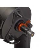 The Celestron Skyris 236C set up for prime focus imaging imaging.