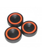 Vibration suppression pads, set of 3
