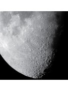 Lunar image take with the Meade LPI-GM monochrome imager.