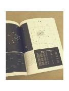 Typical pages, showing star chart, tabular information, and a wide field photo of the area of interest.