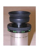 Nagler zoom set for 4.5mm focal length (green index mark shows between 4mm and 5mm focal length click stops).