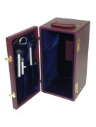 Image showing the interior of the Questar case with storage for standard accessories.
