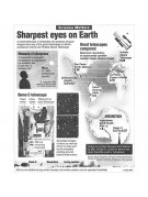"Reprint of an astonishing news item about the TV-85, entitled Sharpest Eyes on Earth""."