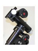 Image showing the factory-installed Gemini optical encoders (with red encoder shafts)