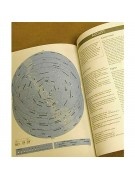 Image of typical simplified monthly all-sky chart from book.