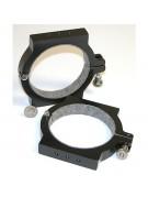 """Takahashi FS-102/FSQ-106/Meade 102ED APO/4"""" Unitron rings, 114mm ID, pair"""